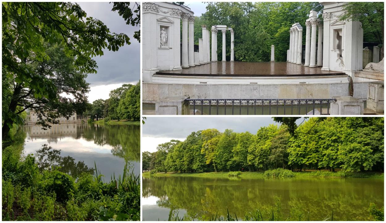 תמונות של פארק לזינסקי והאגם