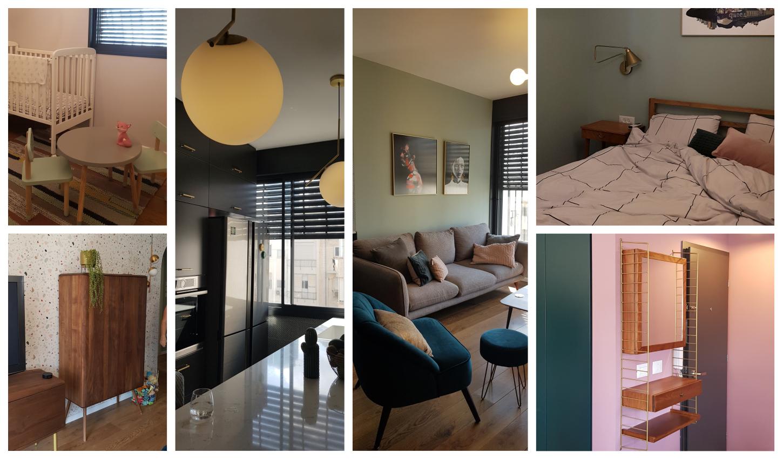 תמונות של הבית הצבעוני