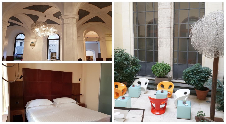 תמונות של חדר השינה הלובי והחצר