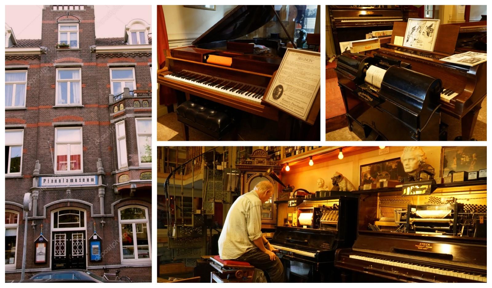 פיאנולה מבחוץ והפסנתרים