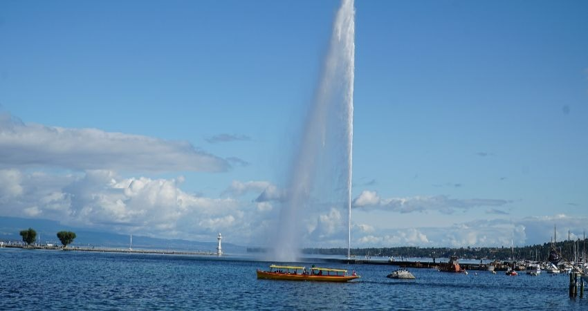 Jet D'eau | Geneva