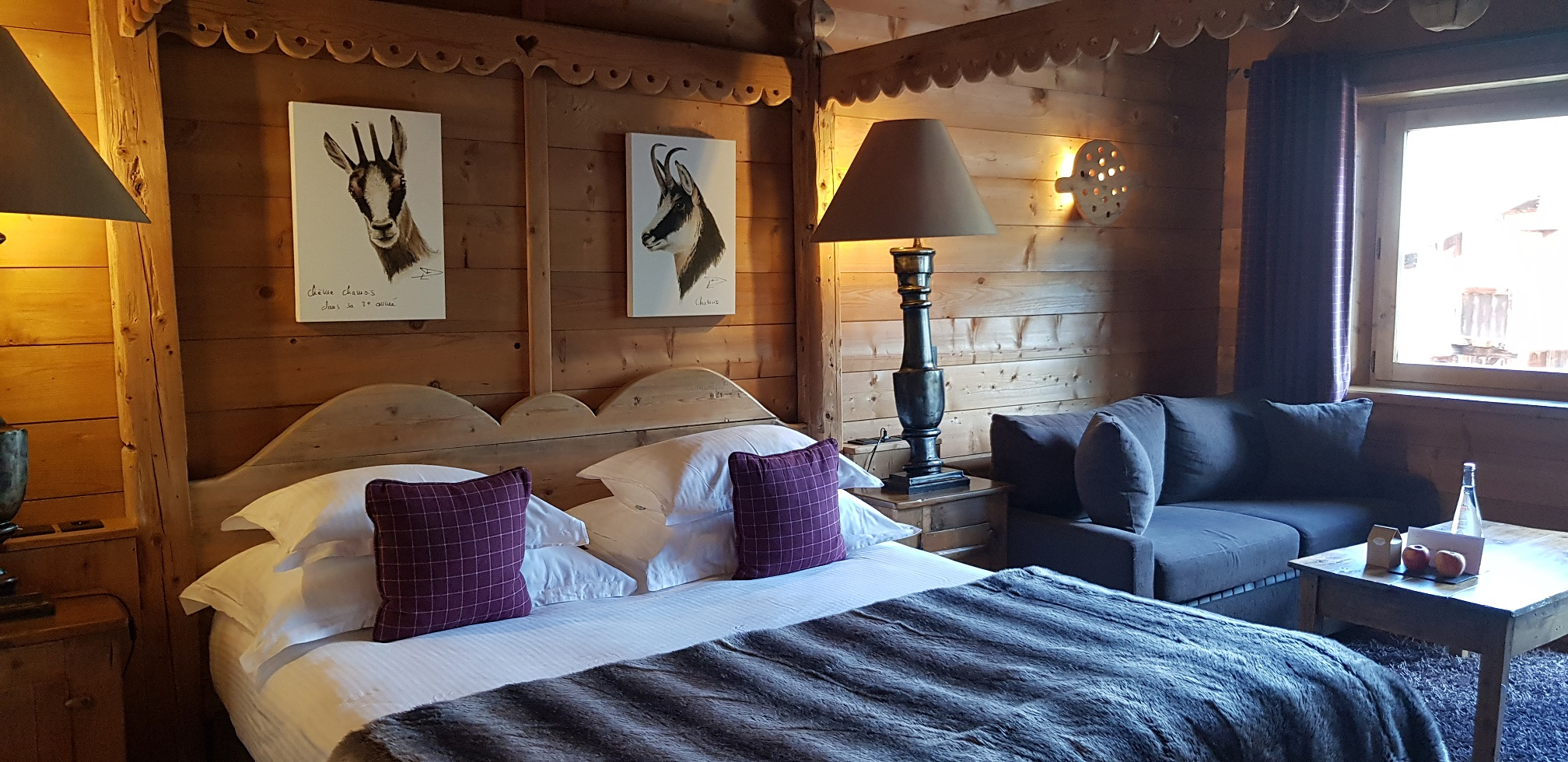חדר השינה במלון