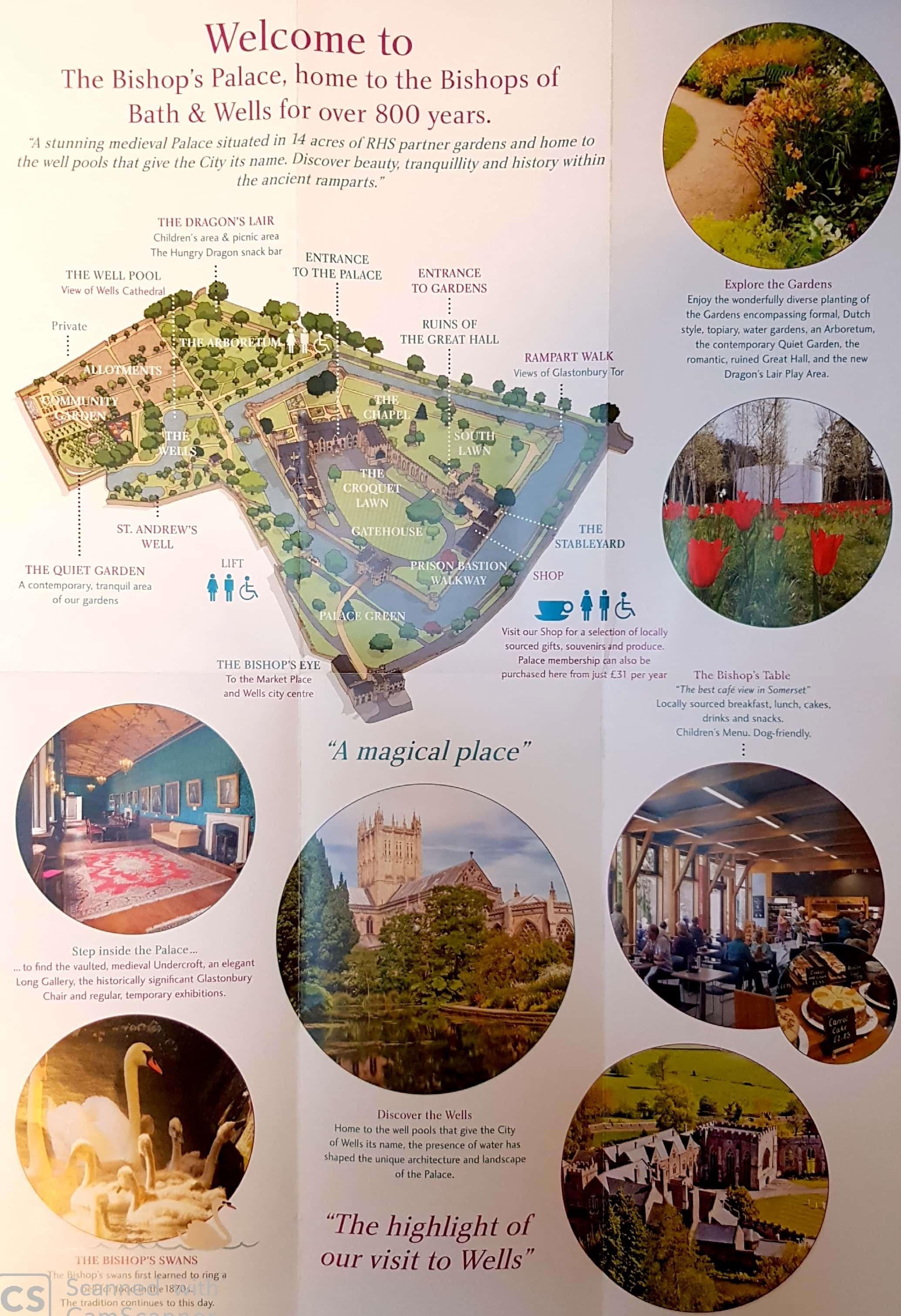 מפה ארמון הבישוף