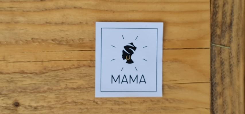 עגלת קפה MAMA לוגו